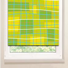 Рулонные шторы на пластиковые окна: Кривые линии