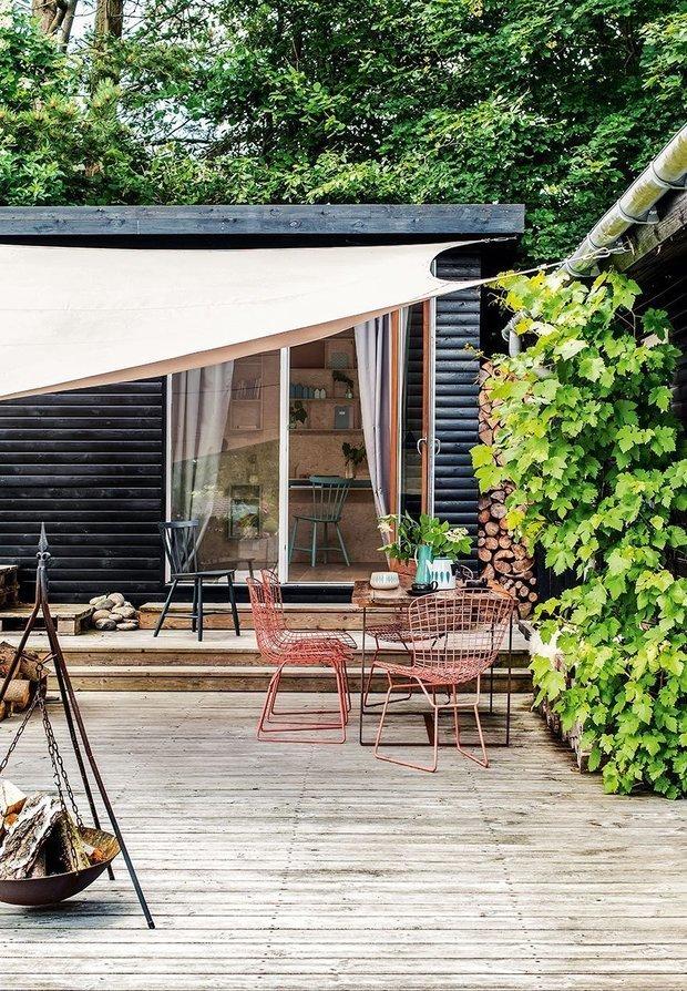 Фотография: Терраса в стиле Лофт, Дом и дача, как обновить дачный дом – фото на INMYROOM