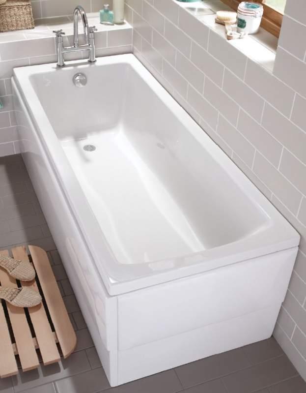 Ванна акриловая Vitra Neon 170x75 см