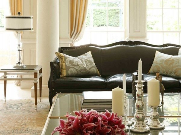 Фотография: Гостиная в стиле Классический, Декор интерьера, Мебель и свет – фото на InMyRoom.ru