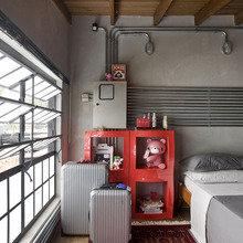 Фотография: Спальня в стиле Кантри, Лофт, Современный, Эклектика – фото на InMyRoom.ru