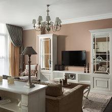 Фотография: Гостиная в стиле Кантри, Классический, Эклектика, Квартира, Дома и квартиры – фото на InMyRoom.ru
