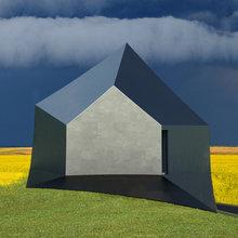 Фото из портфолио Дом «Зодчество» - оптическая дистопия – фотографии дизайна интерьеров на InMyRoom.ru