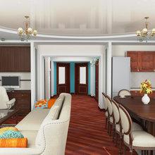 Фото из портфолио 3-х комнатная квартира на ул. Аминева  – фотографии дизайна интерьеров на INMYROOM