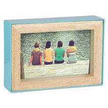 Фоторамка fotoblock 10х15 голубая