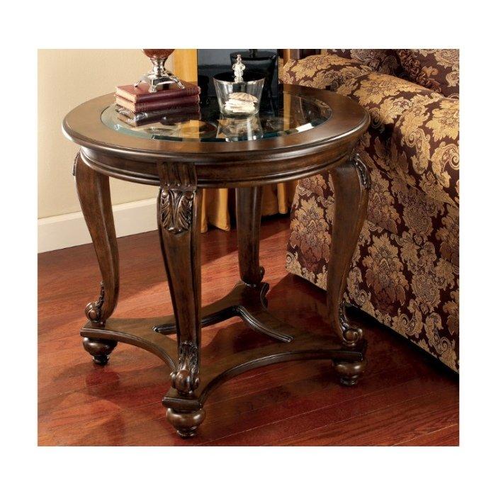 Круглый придиванный столик Norcastle T499-6