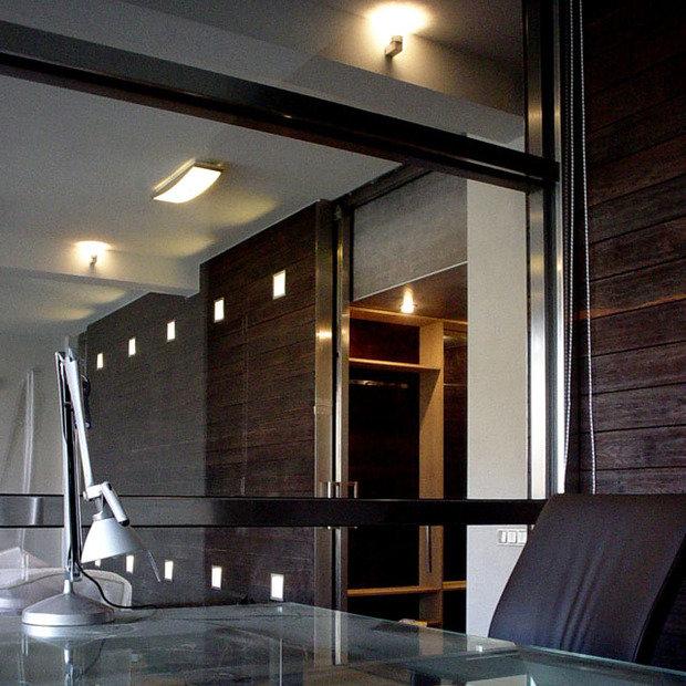 Фотография: Офис в стиле Современный, Квартира, Дома и квартиры, Интерьеры звезд – фото на InMyRoom.ru