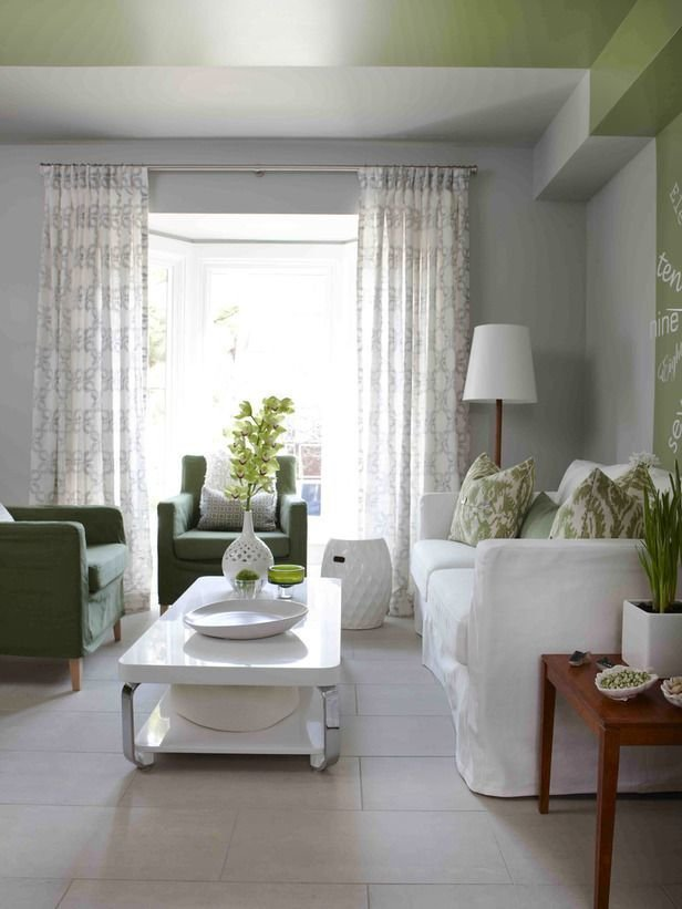 Фотография: Гостиная в стиле Эко, Советы, как совместить спальню с гостиной, как обустроить в одной комнате две зоны, зонирование комнаты – фото на InMyRoom.ru