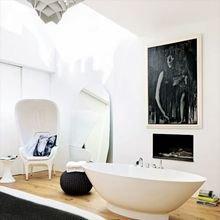 Фотография: Ванная в стиле Современный, Эклектика, Дизайн интерьера, Лондон, Викторианский – фото на InMyRoom.ru