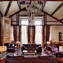 Фотография: Гостиная в стиле Кантри, Декор интерьера, Дом, Декор, Особняк, Шале – фото на InMyRoom.ru