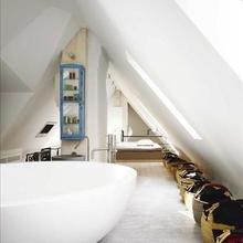 Фотография: Ванная в стиле Скандинавский, Лофт, Декор интерьера, Декор дома, Стены – фото на InMyRoom.ru