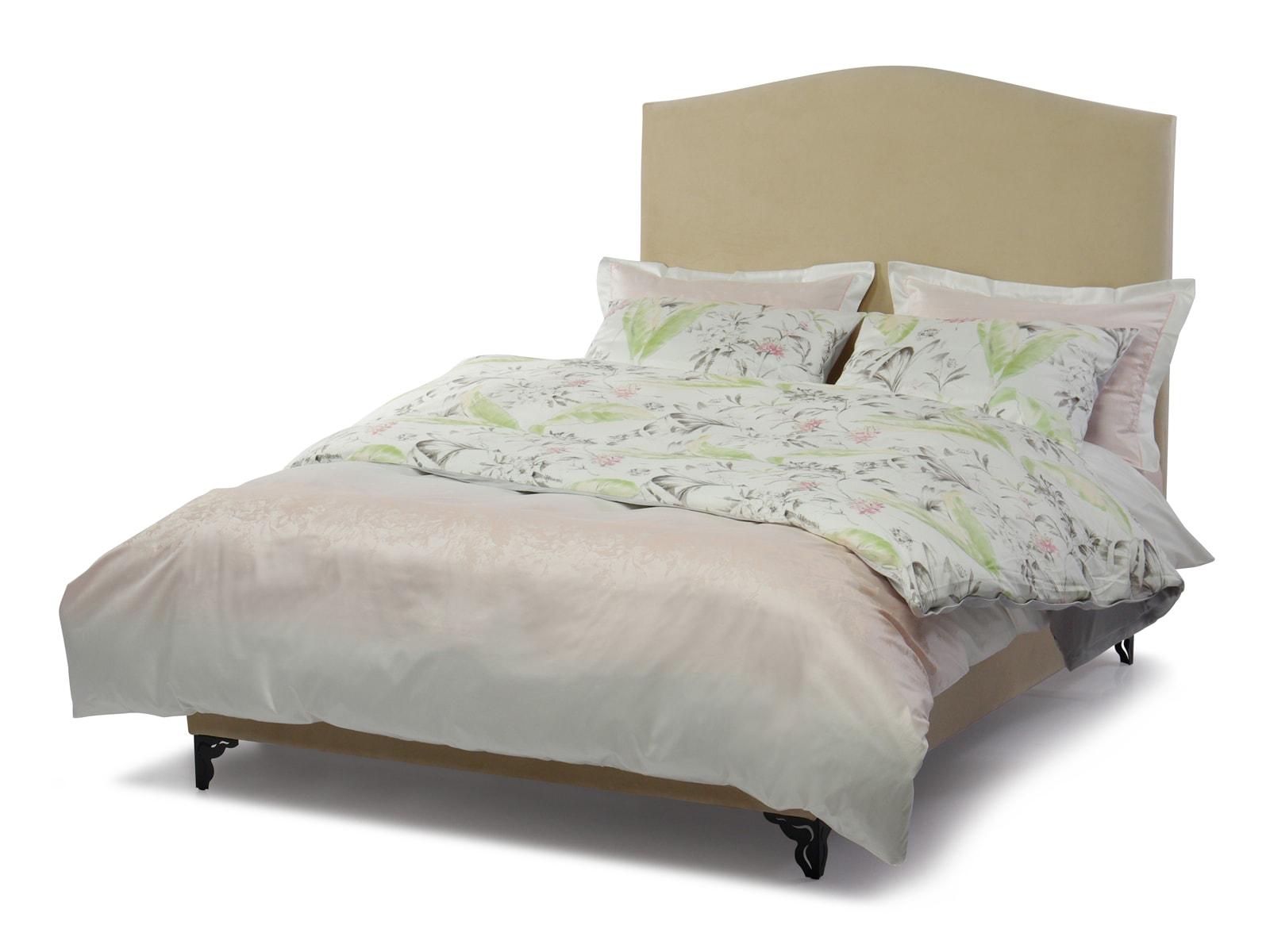 Кровать Chateau бежевого цвета 140х200