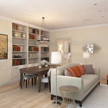 Фото из портфолио Проект квартиры  – фотографии дизайна интерьеров на INMYROOM