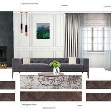 Фото из портфолио Дизайн-проект квартиры – фотографии дизайна интерьеров на INMYROOM