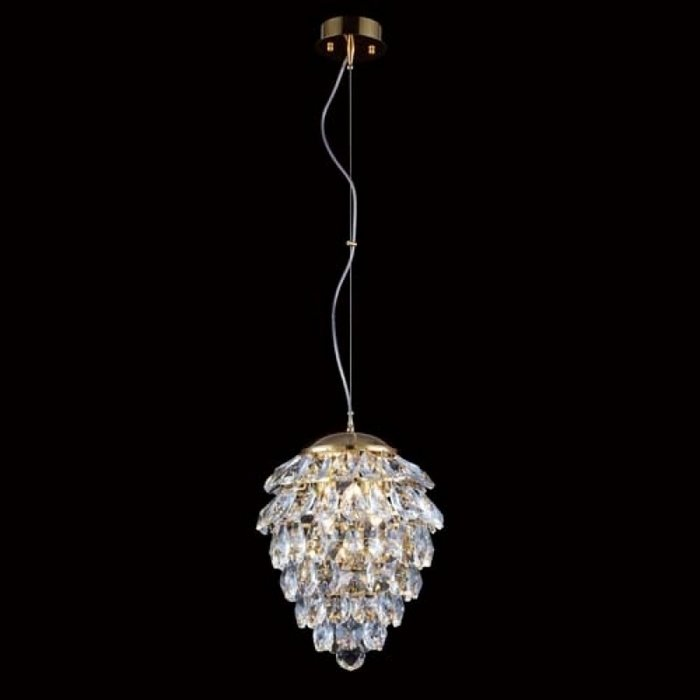 Подвесной светильник Crystal Lux Charme Oro/Crystal