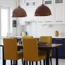 Фотография: Кухня и столовая в стиле Кантри, Лофт, Эклектика, Квартира, Проект недели – фото на InMyRoom.ru