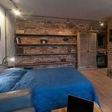Фотография: Спальня в стиле Лофт, Декор интерьера, Малогабаритная квартира, Квартира, Дом, Декор – фото на InMyRoom.ru