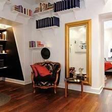 Фотография: Гостиная в стиле Скандинавский, DIY, Малогабаритная квартира, Квартира, Дома и квартиры – фото на InMyRoom.ru