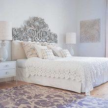 Фотография: Спальня в стиле Кантри, Эклектика, Интерьер комнат, Цвет в интерьере, Советы – фото на InMyRoom.ru