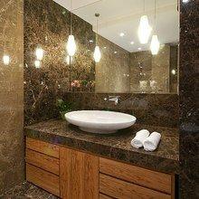 Фото из портфолио Мебель для ванны – фотографии дизайна интерьеров на InMyRoom.ru