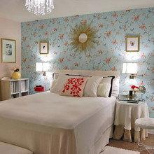 Фотография: Спальня в стиле Кантри, Квартира, Дома и квартиры, Переделка – фото на InMyRoom.ru