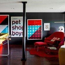 Фотография: Гостиная в стиле Лофт, Дом, Дома и квартиры, Нью-Йорк, Стол – фото на InMyRoom.ru