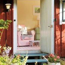 Фотография: Прихожая в стиле Кантри, Скандинавский, Дом, Дома и квартиры, IKEA, Дача – фото на InMyRoom.ru
