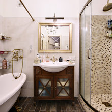 Фотография: Ванная в стиле Кантри, Квартира, Дома и квартиры, IKEA, Проект недели – фото на InMyRoom.ru