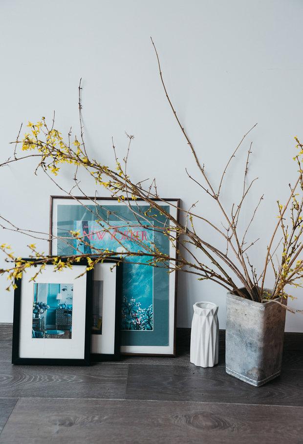 Фотография: Декор в стиле Классический, Ванная, Гостиная, Спальня, Квартира, Проект недели, 2 комнаты, 40-60 метров, ПРЕМИЯ INMYROOM – фото на INMYROOM