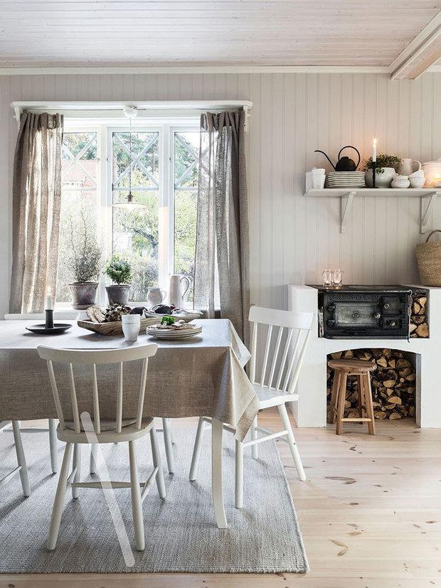 Фотография: Кухня и столовая в стиле Скандинавский, Гид – фото на InMyRoom.ru