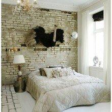 Фотография: Спальня в стиле Кантри, Классический, Лофт, Скандинавский, Современный, Эклектика – фото на InMyRoom.ru