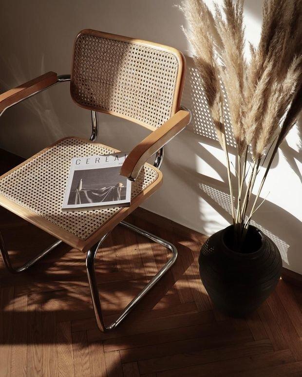 Фотография: Мебель и свет в стиле Эко, Декор интерьера, модная палитра в интерьере, осенний декор интерьера, квартира в пастельных тонах – фото на INMYROOM