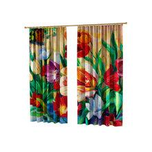 Дизайнерские фотошторы: Живописные тюльпаны