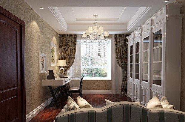 Фотография: Офис в стиле Классический, Современный, Интерьер комнат, Мебель и свет, Подсветка, Торшер – фото на InMyRoom.ru