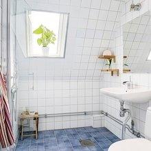 Фото из портфолио Квартира на чердаке на острове Кунгсхольмен – простота и незамысловатость тоже могут впечатлять!  – фотографии дизайна интерьеров на InMyRoom.ru