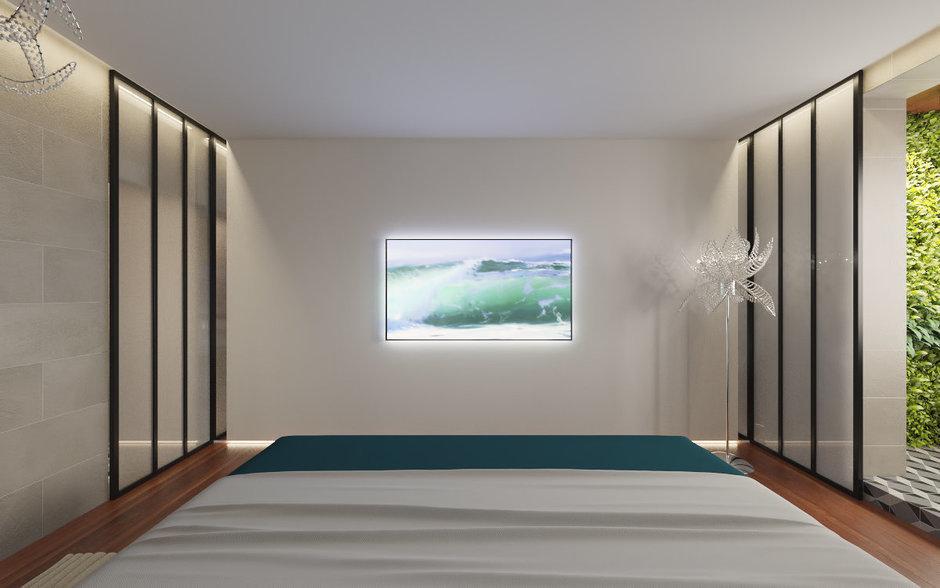 Фотография: Спальня в стиле Минимализм, Квартира, Проект недели – фото на InMyRoom.ru