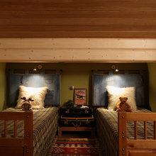 Фотография: Спальня в стиле Кантри, Современный, Декор интерьера, Дом, Fabbian, Дома и квартиры, IKEA, Шале – фото на InMyRoom.ru