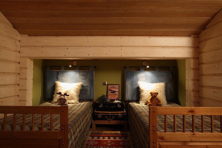 Фотография: Спальня в стиле Прованс и Кантри, Современный, Декор интерьера, Дом, Fabbian, Дома и квартиры, IKEA, Шале – фото на InMyRoom.ru