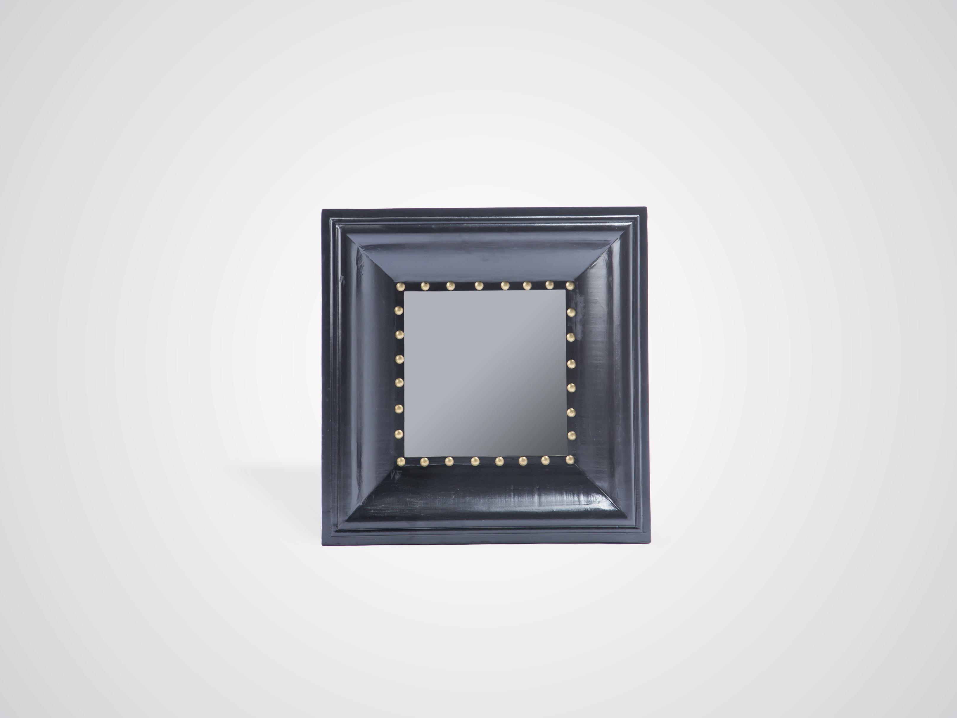 Зеркало в квадратной черной раме, inmyroom, Китай  - Купить