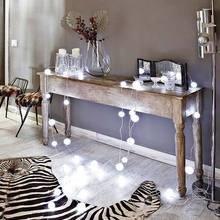 Фотография: Мебель и свет в стиле Эклектика, Декор интерьера, Декор, Праздник, Новый Год, Свечи, Зеркало, Гирлянда – фото на InMyRoom.ru