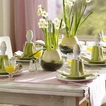 Фотография: Декор в стиле Современный, Декор интерьера, Праздник, Цветы, Стол – фото на InMyRoom.ru