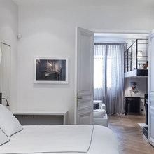 Фотография: Спальня в стиле Современный, Квартира, Дома и квартиры, Париж – фото на InMyRoom.ru