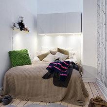 Фотография: Спальня в стиле Скандинавский, Современный, Декор интерьера, Квартира, Интерьер комнат – фото на InMyRoom.ru