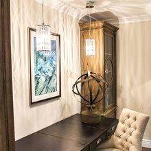 Фотография: Офис в стиле Кантри, Классический, Скандинавский, Современный, Эклектика – фото на InMyRoom.ru