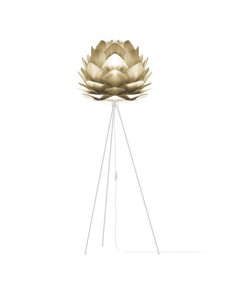 Купить Напольный светильник Vita Copenhagen Silvia Brushed Brass , inmyroom, Дания