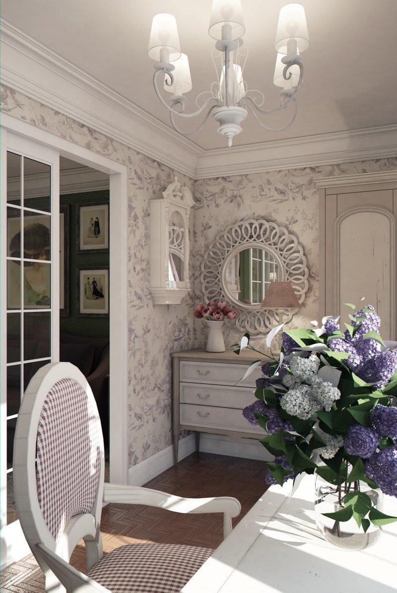 Фотография: Гостиная в стиле , Малогабаритная квартира, Квартира, Дома и квартиры – фото на InMyRoom.ru