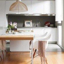 Фотография: Кухня и столовая в стиле Современный, Квартира, Испания, Терраса, Цвет в интерьере, Дома и квартиры, Белый – фото на InMyRoom.ru