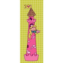 """Дизайнерская картина на холсте для детской """"Принцесса и зоопарк"""""""