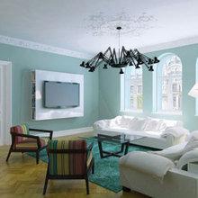 Фото из портфолио Дизайн интерьера квартиры на улице Альберта в Риге – фотографии дизайна интерьеров на InMyRoom.ru