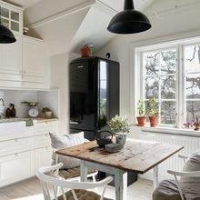 Фото из портфолио Очаровательная двухуровневая квартира в Швеции – фотографии дизайна интерьеров на INMYROOM